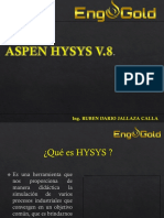 ASPEN HYSYS V.8.-1