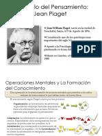 Jean Piaget - desarrollo del pensamiento
