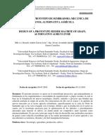 DISEÑO DE UN PROTOTIPO DE SEMBRADORA MECÁNICA DE GRANOS, ALTERNATIVA AGRÍCOLA