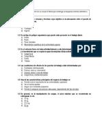 Evaluacion de Reactivo Ergonomia