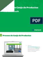 Proceso de Canje de Producto