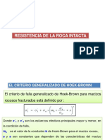 Resistencia de La Roca Intacta