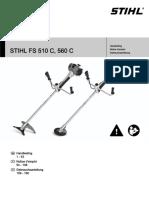 Stihl Fs 510 C_ 560 c