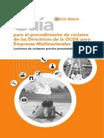 Guía para el procedimiento de reclamo de las Directrices de la OCDE para Empresas Multinacionales.pdf