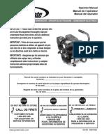 Powermate Pm0103002 User Manual and Parts List (Pramac)