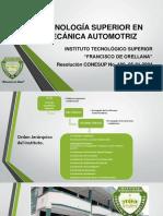Presentacion AUTOMOTRIZ