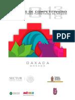 Agenda de competitividad del destino turístico Oaxaca