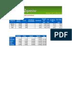 Planilla de Remuneraciones de Una Constructora en Excel