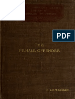 Famale Offenders- Lombroso