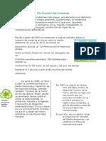Día Mundial Del Ambiente Adriano
