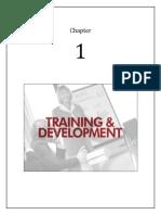 1. Training and Development
