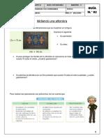 Ficha N°2 Operaciones con polinomios