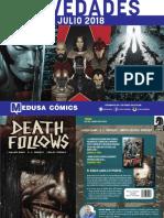 NOVEDADES Medusa Cómics para Julio 2018