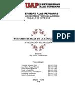 Monografia Nociones Basicas de La Logica Formal