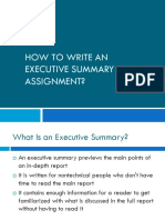 ELC560- How to Write an Executive Summary (1)