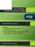 Education Law, Practices, Trends and Issues