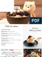 le bingsu - plan de communciation