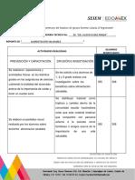 Formato Para Informes Alimentación Saludable