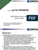 Boston Design for Reliability 2015-06-03