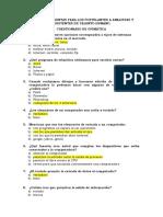 Cuestionario Para Postulantes