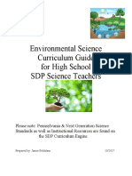 Environmental Science HS Curriculum Guide
