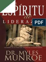 El Espiritu de Liderazgo - Myles Munroe (1)