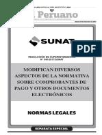 Resolución de Superintendencia 340-2017-Sunat