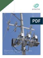 ARTECHE CT Bancos-Capacitores-Poste ES