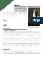 Decretos de Chamartín