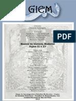 Manual de Historia Medieval. Siglos III Al XV