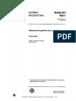 Norma IRAM ISO 9001 2008 Segunda Edición 2008-12-23