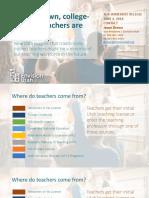Utah Needs More Teaching Majors