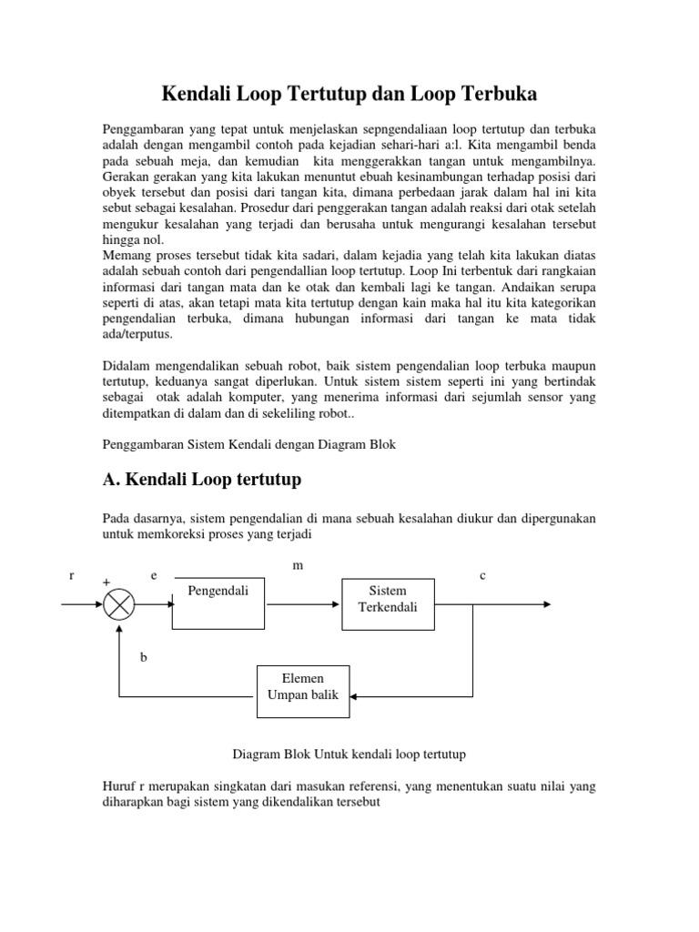 Kendali loop tertutup dan loop terbuka ccuart Images