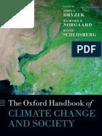 [John S. Dryzek, Richard B. Norgaard, David Schlos] Oxford Handbook of Climate Change