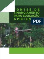 Fontes de Financiamento Para Educação Ambiental (2017)