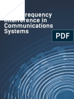 Radio Frequency Interference in Communication systems