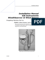 Wind Sensor Instal Manual
