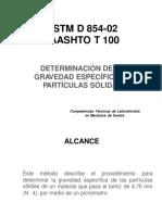 ASSHTO T 100