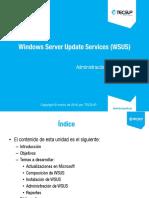 Cap04 WSUS-Adminitración de redes
