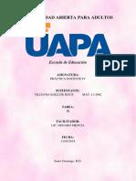 Tarea III - Práctica Docente IV - Yildania Baez.docx
