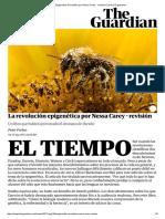 The Epigenetics Revolution Por Nessa Carey - Revisión _ Libros _ El Guardián