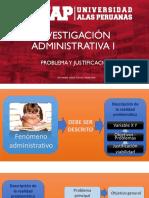 05 Investigación administrativa - Problema y justificación.pdf