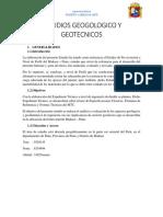 Estudios Geologicos y Geotecnicos; Mañazo 03