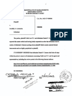 Culik Law P.C. v. Daniel P. Camara - Order