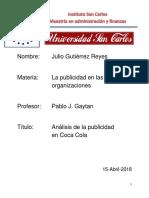 Analisis Coca Cola