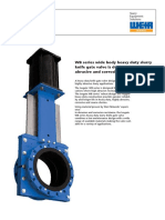 ISOGATE Slurry Valves WB Series