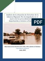Casa Alianza-Niñes Migrante No Acompañada