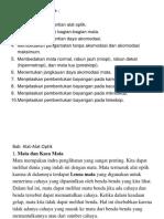 Bab 5 Alat-Alat Optik