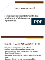 Change Management in Kf