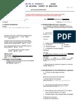 Phoenix Police Department Arrest Report